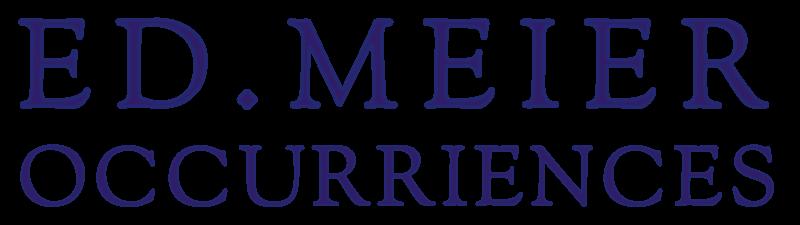 Ed.Meier Occurriences - Occurrenzien - Occurrentien - Occurrences mit der eingefuegten Silbe rien - Publick Occurrences war die erste englishsprachige Zeitung der britischen Kolonien in den heutigen USA - lesenswerte Artikel aus der Neuen Welt und in einem Englisch geschrieben, das dem Deutschen mehr glich