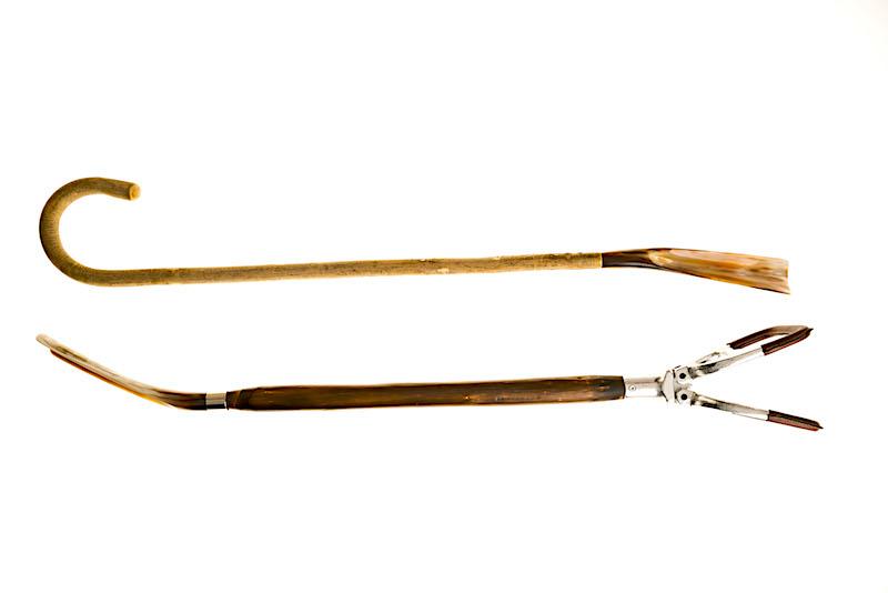 die feschen und Teilweise mit einem Valentin´schen Humor ausgestatteten Shoehorns - Schuhlöffel