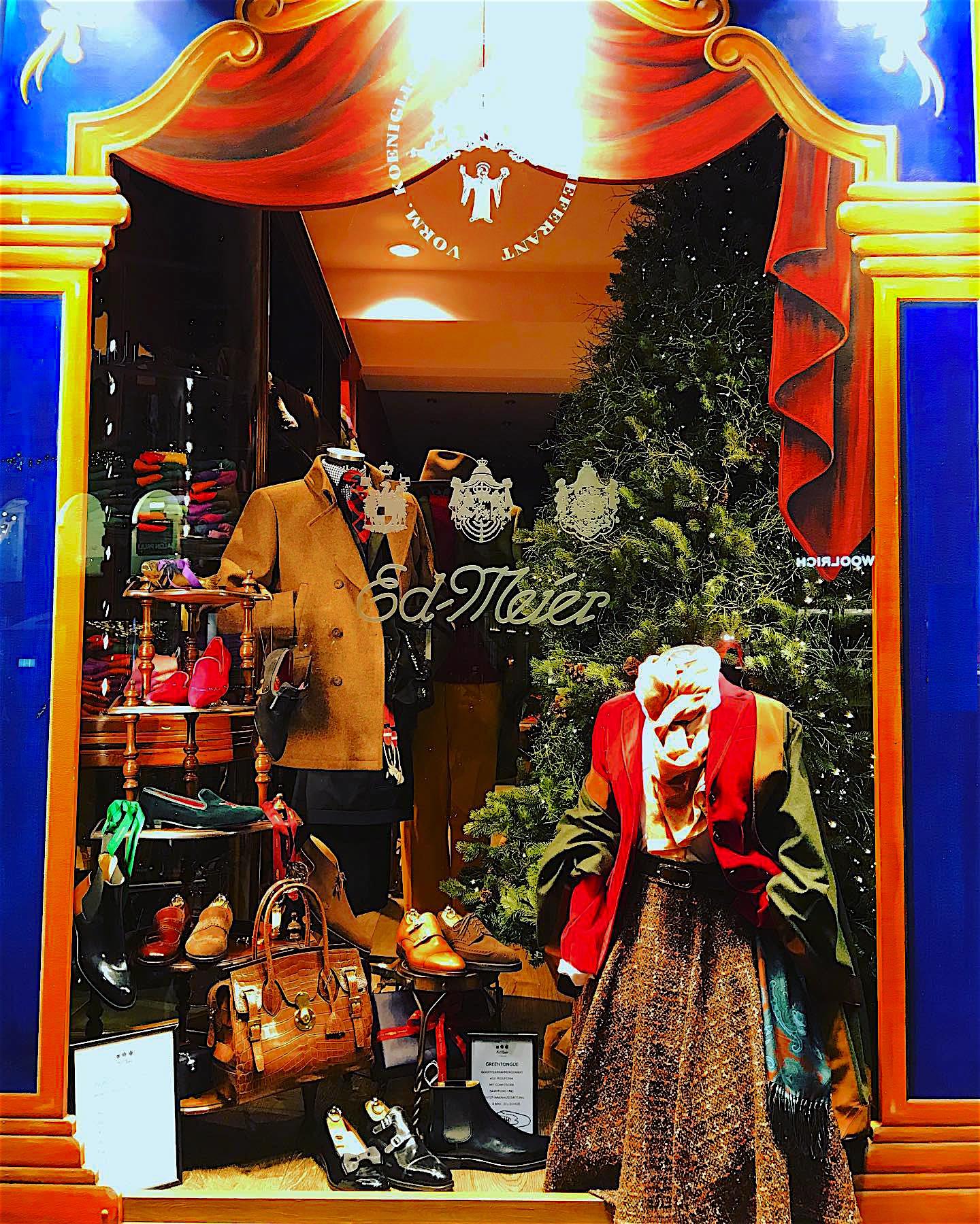 Vorweihnachtlich festliche Stimmung und die Perle in der Krone des Brienner Boulevard - Ed.Meier München - in der Adventszeit Montag bis Samstag von 10.00 bis 20.00 geöffnet
